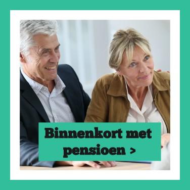 Binnenkort met pensioen button